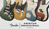 Bemutatjuk a Fender American Professional sorozatát